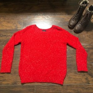 AE Vintage Boyfriend Red Sweater